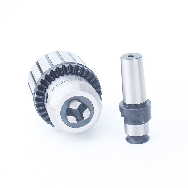 B18-GT12 1-16MM Drill Chuck Adapter Special for Pneumatic Tapping Machine Collects enlarge