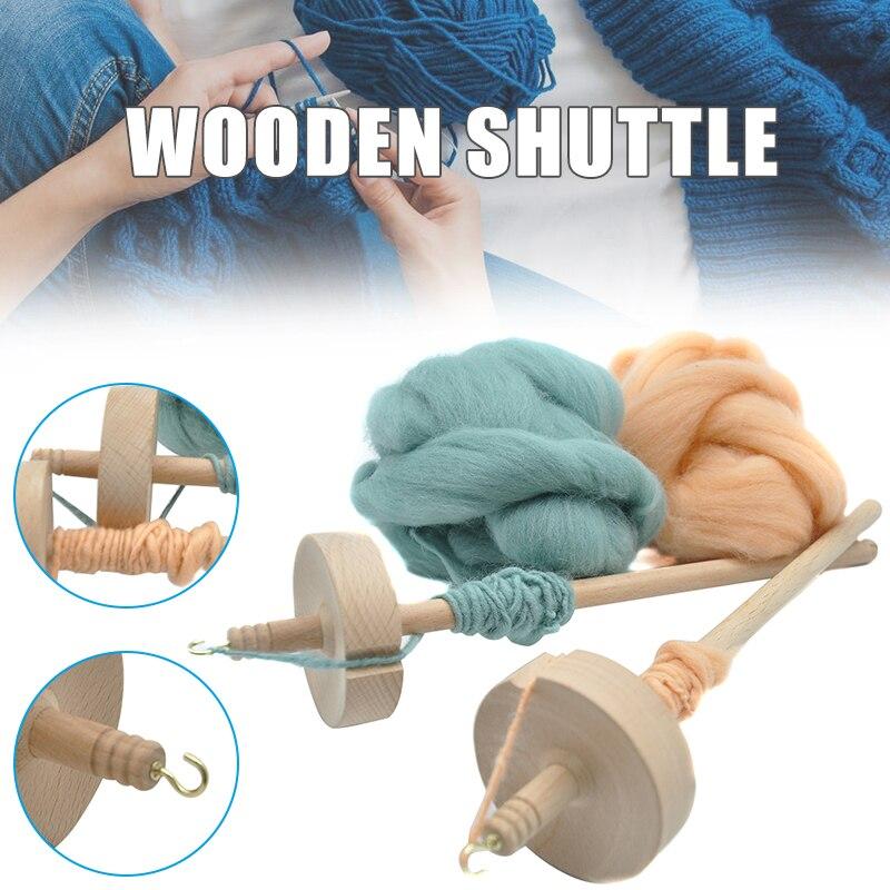Gota husillo superior hilo de torbellino mano tallada herramienta de madera regalo para principiantes abrazo-ofertas