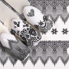Lemooc 1 Vel Nail Water Decal Beauty Kant Transfer Sticker Alle Voor Watermerk Nail Art Diy Ontwerp Decoratie