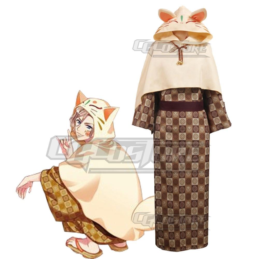 ¡Anime A3! Taiko no Tatsujin Settsu Banri vestidos de Navidad envío gratis CG392