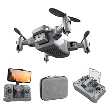 Remote Control Folding Drone Aerial WiFi Real-Time Picture Transmission Aircraft Small Drone Quadcop
