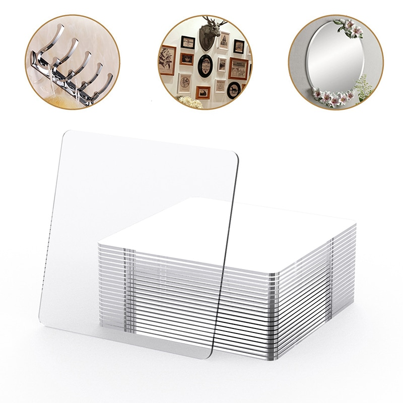 100/5Pcs Powerful Non-Mark Sticker Photo Wall Auxiliary Double-Sided Pendating Fixed Two-Sided Sticky Bathroom Waterproof Sticke