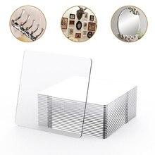 100/5Pcs ללא עוצמה-סימן מדבקת תמונה קיר עזר דו צדדי Pendating קבוע דו צדדי אמבטיה עמיד למים ויסקוזה קלטת