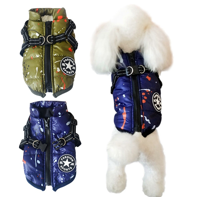 Abrigo de invierno para mascotas ropa de invierno, abrigo cálido para perros pequeños, abrigo grande de Navidad para perros, ropa para mascotas, Chihuahua