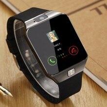 Touchscreen Smart Uhr dz09 Mit Kamera Bluetooth Armbanduhr Sim-karte Smartwatch Für Ios Android Handys Supp