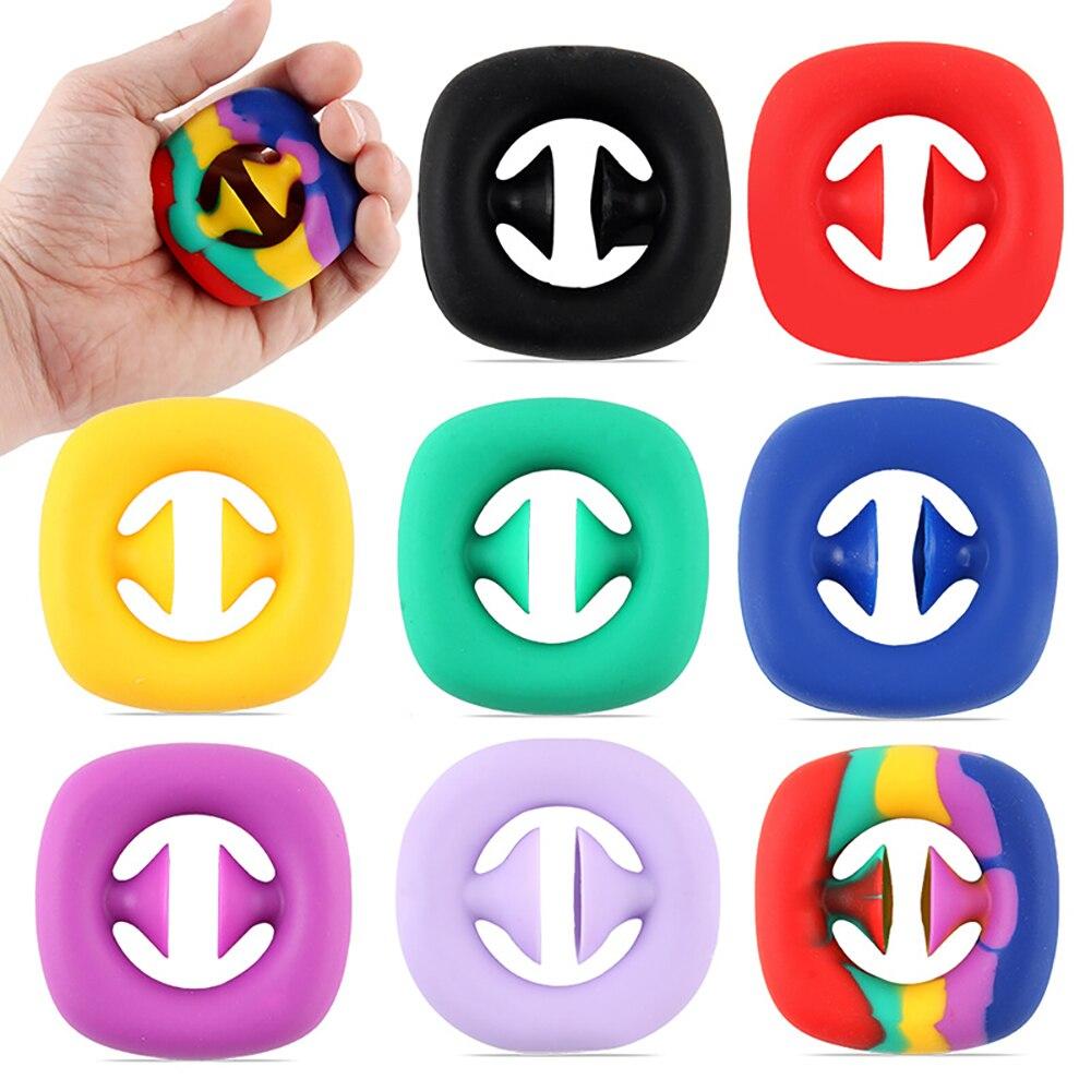 Фото - Антистрессовая игрушка-антистресс Snapperz, игрушка-антистресс, антистресс, антитревожный фиджет, игрушка-антистресс игрушка антистресс подушка эврика пончик n1 98762