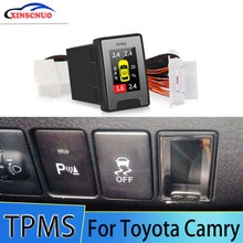 OBD TPMS Tire Pressure Monitoring System For Toyota Camry 2008-2012 2013 2014 2015 2016 Security Ala