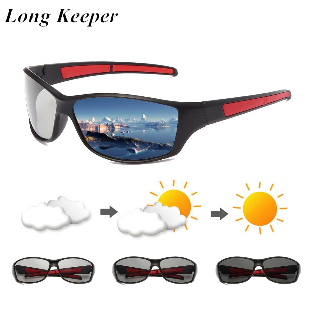 Gafas de sol fotocromáticas polarizadas para hombre, gafas de conducción clásicas, camaleón,...
