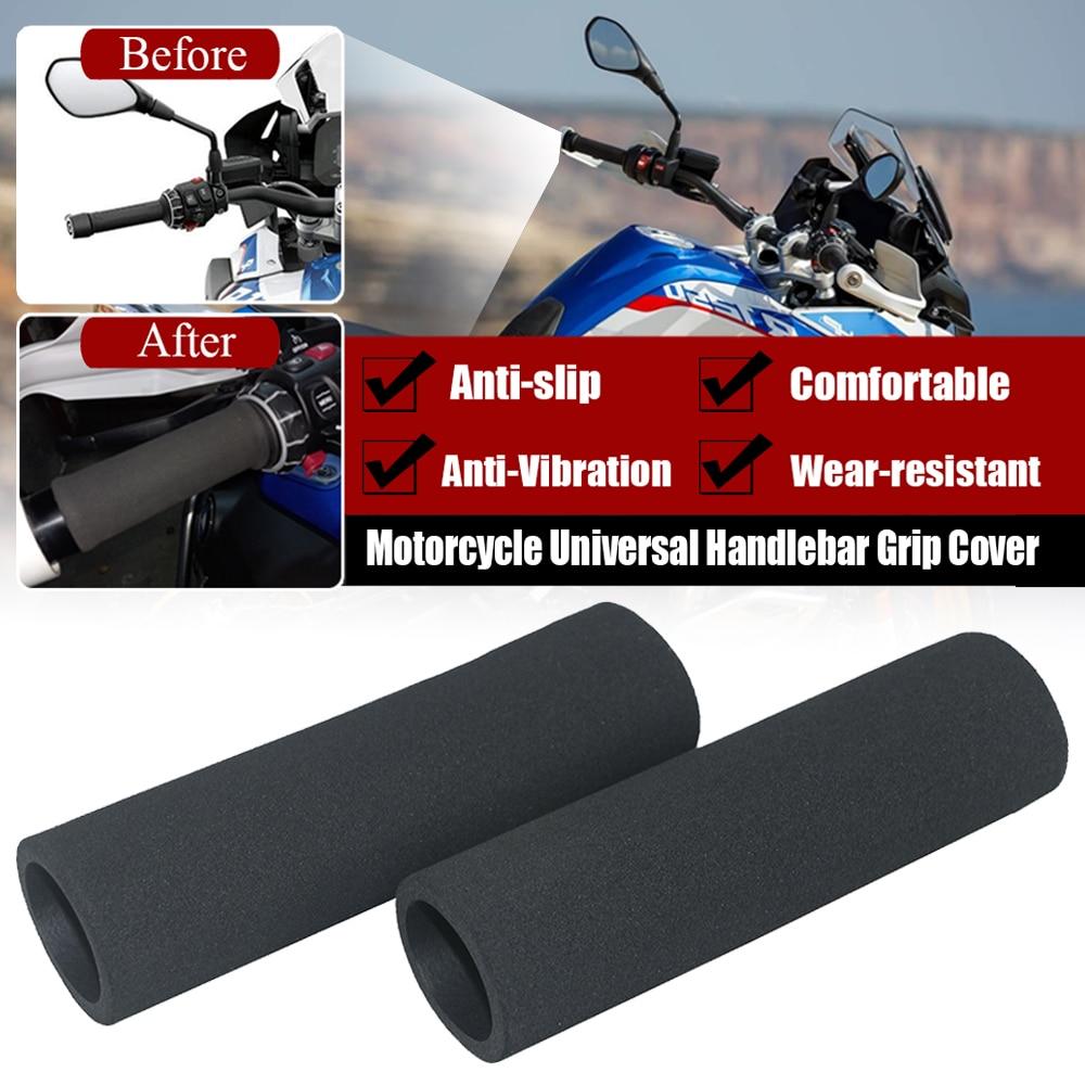 Motorcycle Universal Slip On Anti Vibration Handle Foam Grip Cover Handlebar Sponge Grips For BMW R1250GS Adventure R1200GS ADV