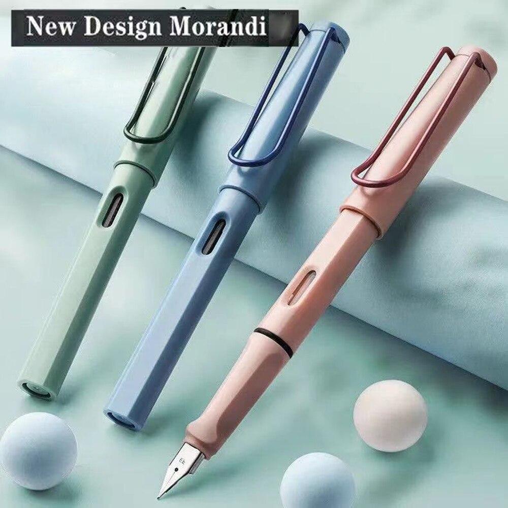Morandi Brunnen Stift Vintage Farbe 0,38mm EF Spitze Feine Schreiben Tinte Stifte Büro Business Schule Geschenk