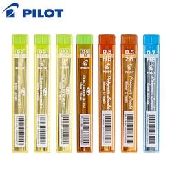 PILOTO Conduzir Polímeros 10 pçs/lote Lapiseira Refil 0.3 /0.5 /0.7 liderança Ativa 60mm 2B/HB PPL-3/5/7