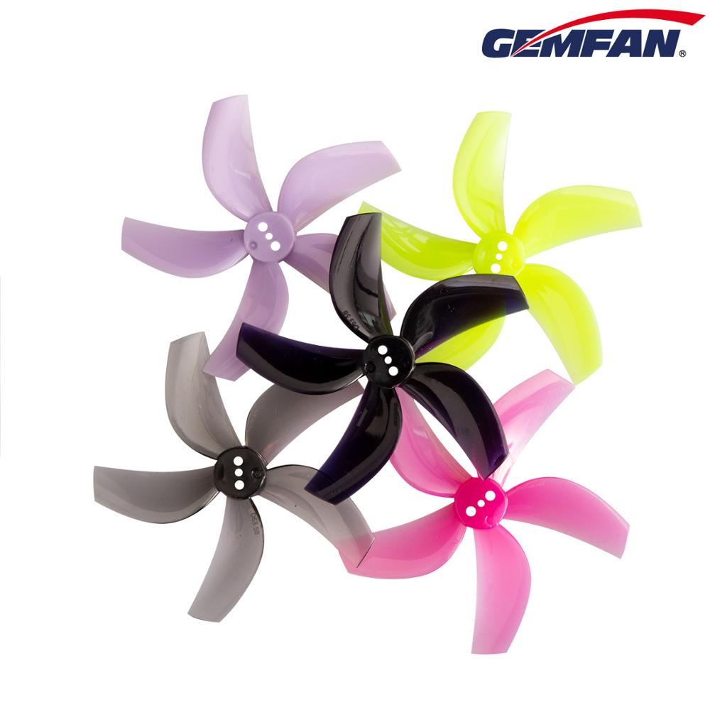 New Gemfan D63 5-Blade PC Propeller 4 Pair/8 PCS Ducted 63mm 2.5inch RC FPV Racing Freestyle Cinewhoop Ducted Drones D63-5 Props