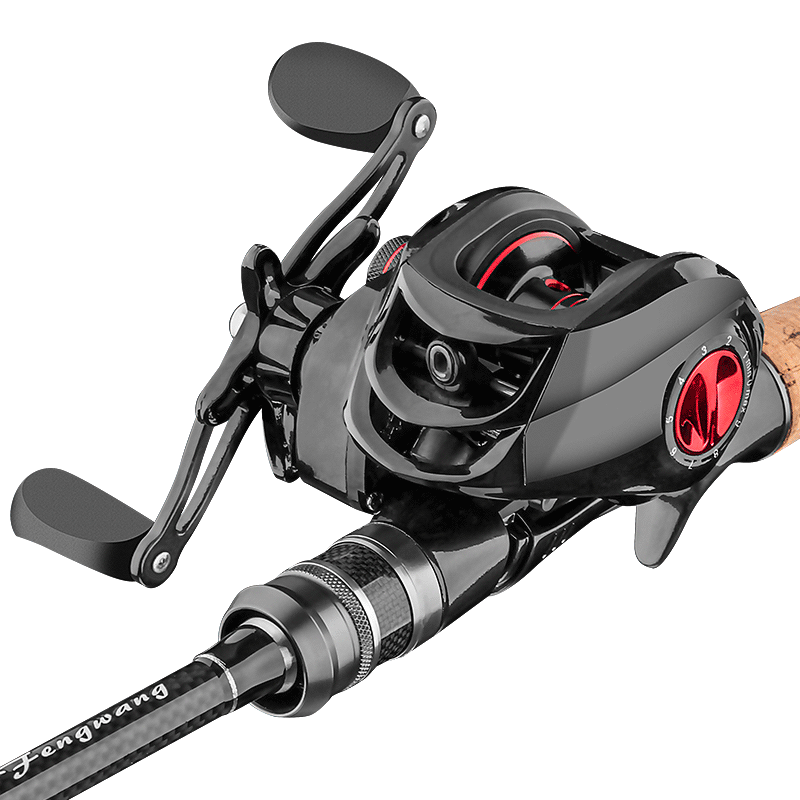 Caña giratoria de 2,1 m y 2,4 m, caña de pescar fundida de carbono, caña de pescar, rueda telescópica de viaje, Pesca, aparejos de Pesca ultracortos