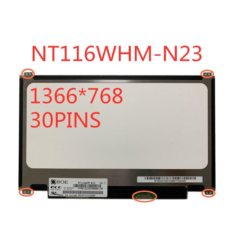 11.6 بوصة LCD شاشة NT116WHM-N23 B116XTN01.0 N116BGE-E42 N116BGE-E32 N116BGE-EA2 B116XTN02.3 يصل + أسفل المسمار ثقوب