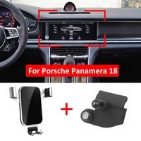 new car phone holder air vent mount for porsche panamera 971 2017 2018 2019 2020 gps stand cell phone stable cradle accessories