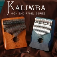 TIASCFR Kalimba 17-key thumb piano tuning keys musical instrument keyboard pronunciation box 21-key thumb piano xylophone piano