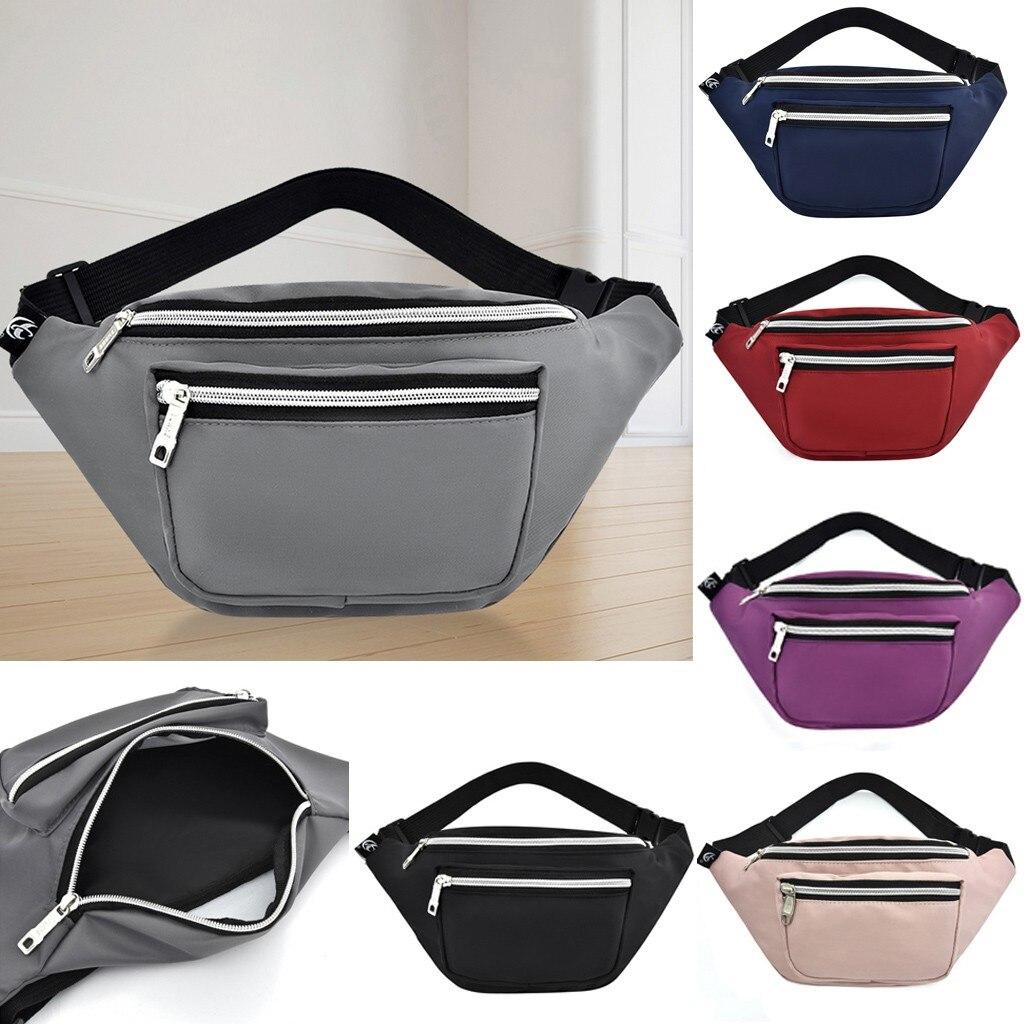 Bolsa de cintura feminina saco de cinto de viagem dos homens fanny pacote hengreda hip bum sacos bolsa feminina senhoras barriga bolsa para telefone moedas 2020