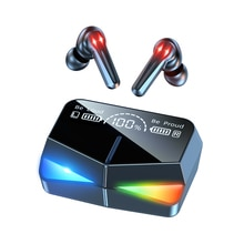 TWS Bluetooth-compatible 5.1 Gaming Earphones Charging Box Wireless Headphones Stereo Touch Earbuds
