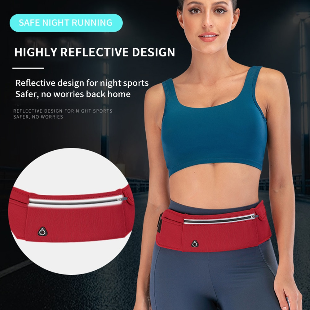Waist Bag Running Bag Fishing Bag Women`S Belt Bag Travel Men Fanny Pack Hip Bum Bags Purse Ladies Belly Pouch For Phone Coins enlarge