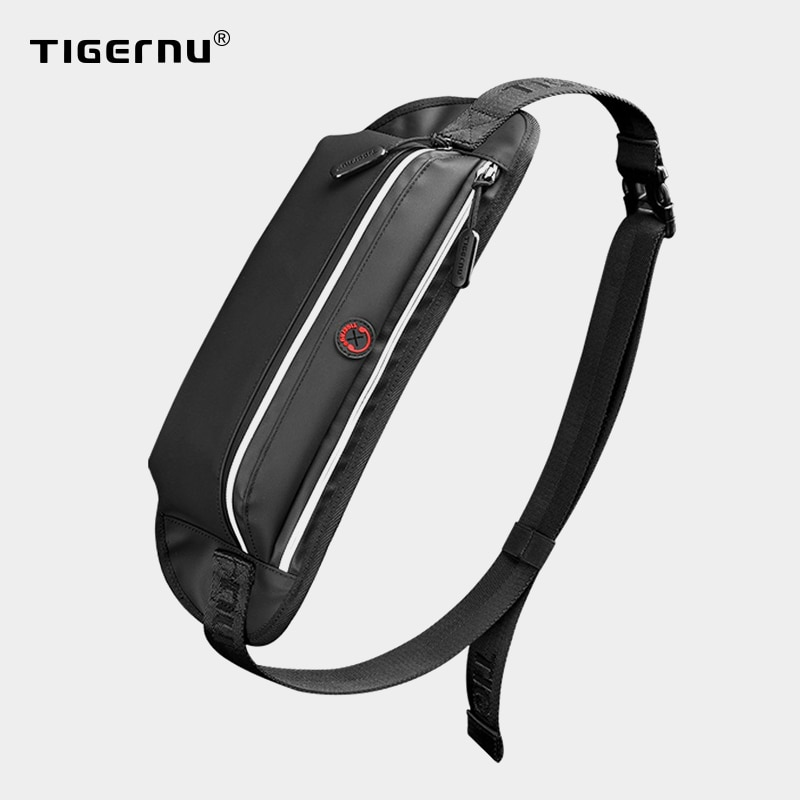 Tigernu 2021 New Men Waist Bag Young College Students Travel Men Crossbody Bag Male Belt Bag Brand W
