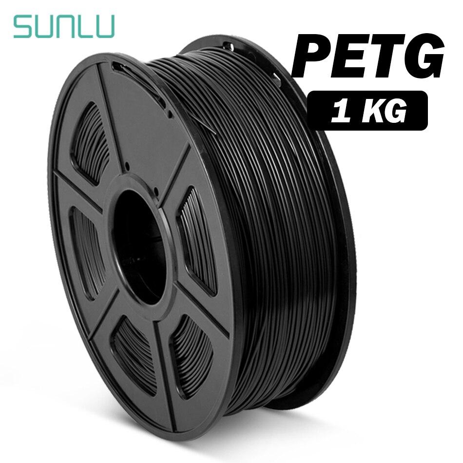 SUNLU PETG خيوط 1.75 مللي متر 1 كجم شفافية 3d خيوط مناسبة للطباعة 3d الطباعة المواد ل 3D طابعة