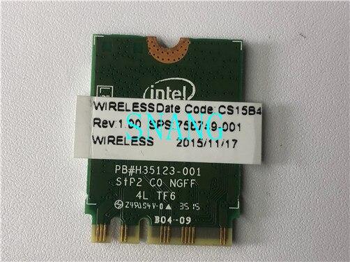 Para Intel Dual band Kablosuz N 7265 7265NGW 802.11N 2x2 WiFi 300...