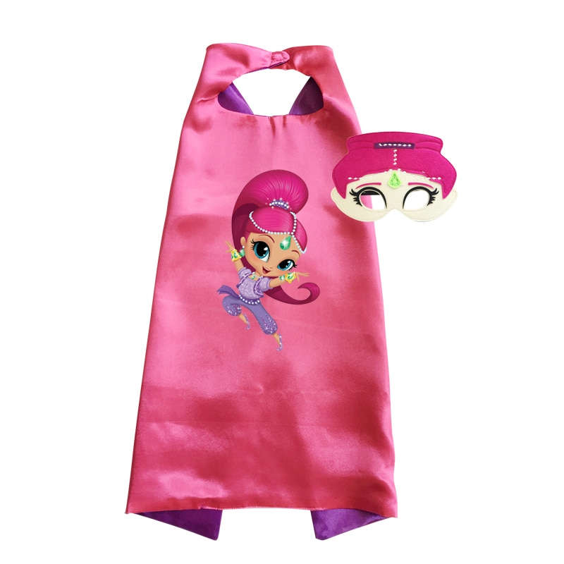 Shimmer and Shine Costume Original Princess Girls Halloween Nahal Talla Zac Leah Cosplay Birthday Gift