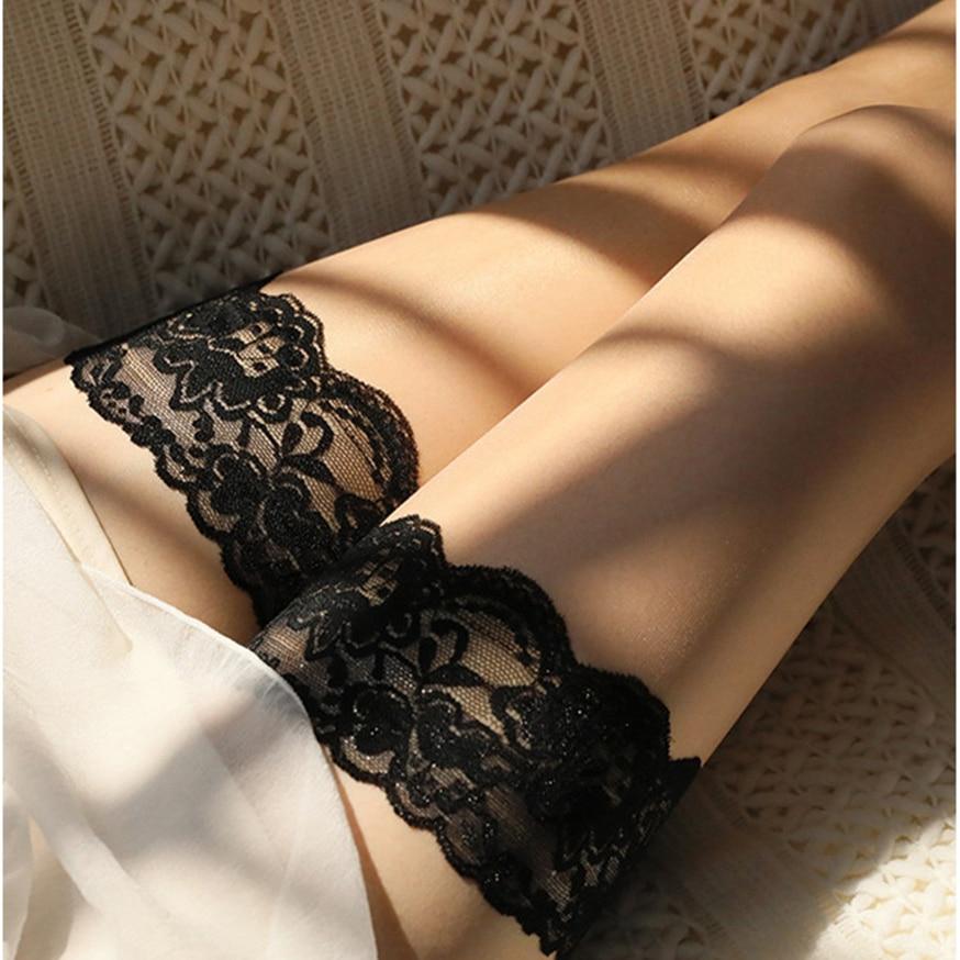 Medias sexuales sexys para ama de casa, MILF, tope para relojes, medias sexuales, fetiche, crampie, laca, medias transparentes