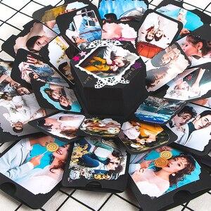 Handmade DIY Gift Box Hexagonal Multi-Layer Surprise Confession DIY Album Creative Gift Valentine's Day Creative Handmade Gift