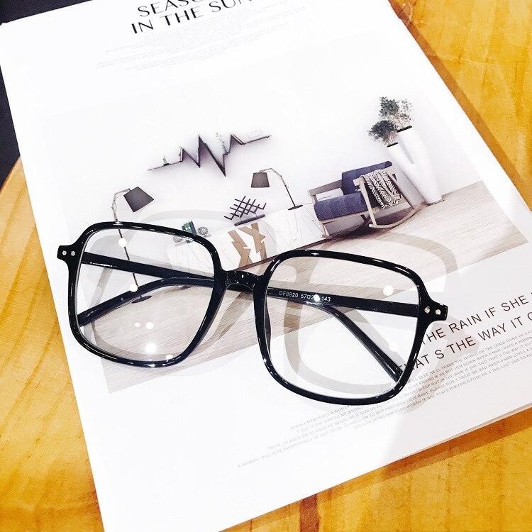 Dollger Fashion Oversized Galsses Frame Women Men Clear Optical Eyeglasses Vintage Spectacles Frames s1749