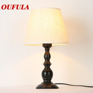 Hongcui  Table Lamp Desk Light  Contemporary Office Creative Decoration Bed Lamp Fabric for Foyer Living Room Bed Room Hotel