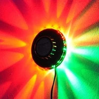 sunflower stage light rgb laser projector lighting 48 leds bar party disco dj effect light sound control small sunlight ufo lamp