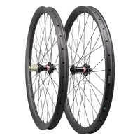 ican newest symmetric and asymmetric all mountain 29er carbon clincher tubeless enduro bike wheelsets with boost hub 148x12mm
