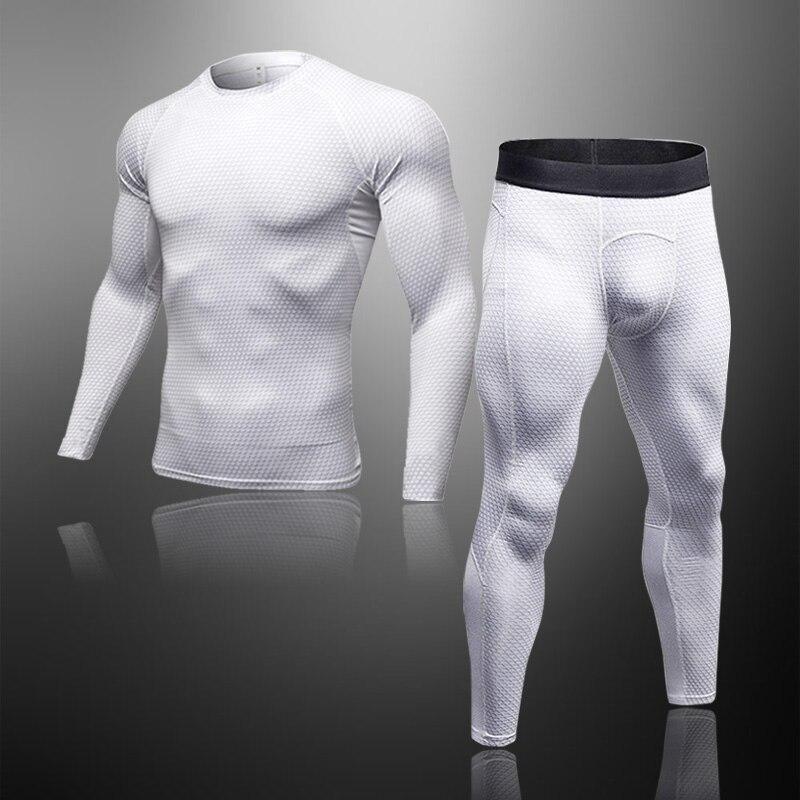 Комплект мужского термобелья, тактические леггинсы для ММА, компрессионные кальсоны для фитнеса, мужские зимние бренды для мужчин