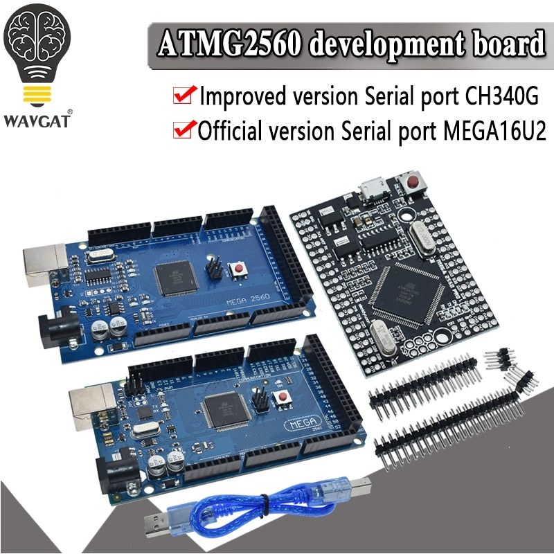 Aliexpress - Arduino MEGA 2560 R3 Compatible Board with USB cable