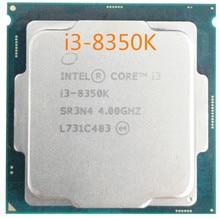 Intel Core 8 PC ordenador I3 8350K PROCESADOR DE I3-8350K LGA 1151 FC-LGA 14 Nano procesador de cuatro núcleos