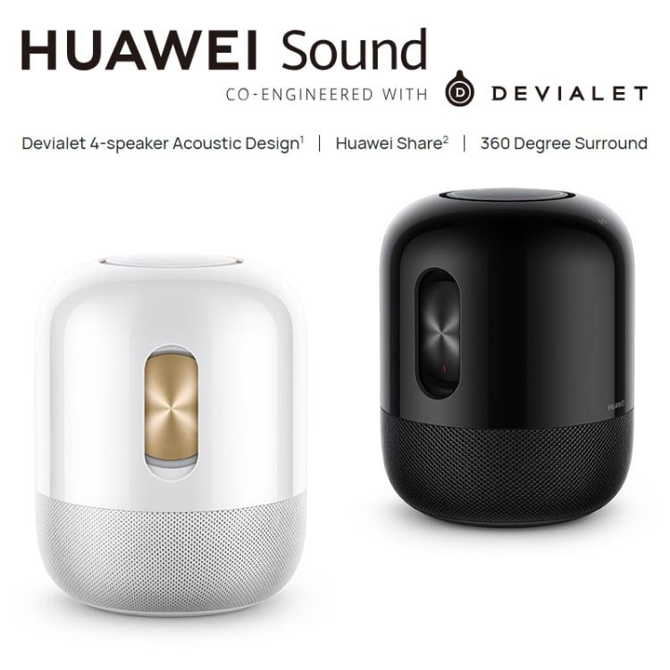 Original HUAWEI Sound 40W Devialet 5.0 Smart Speaker, Support Huawei HiLink(Black)