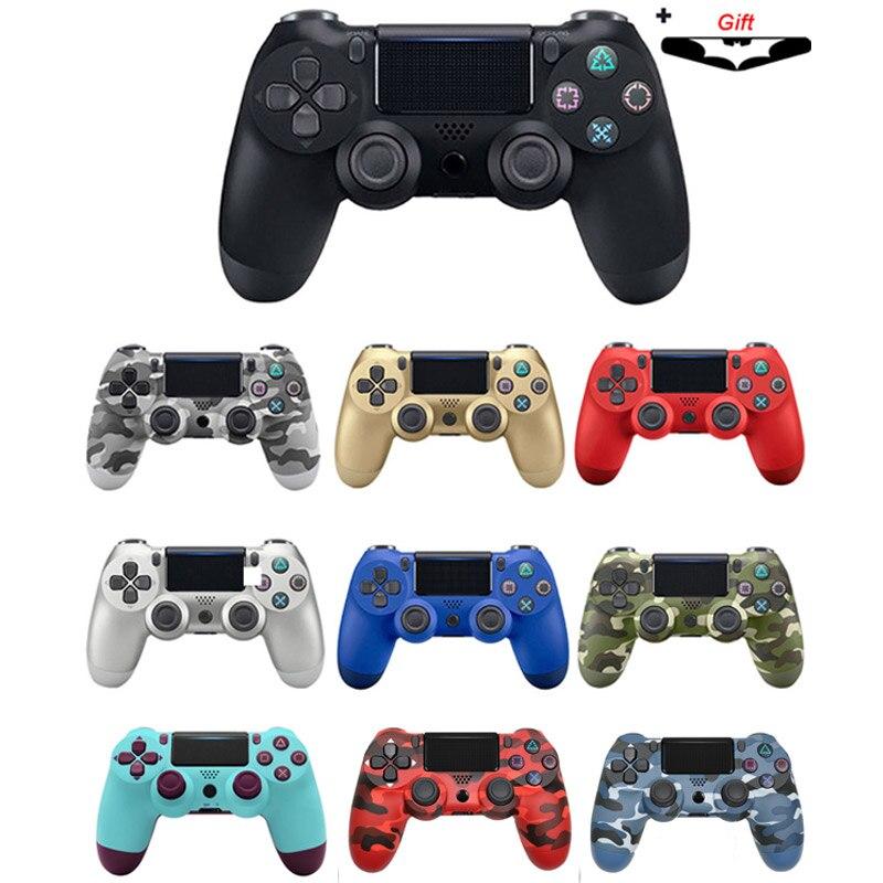 Joystick sem fio bluetooth para ps4 controlador apto para mando ps4 console para playstation dualshock 4 gamepad para ps3