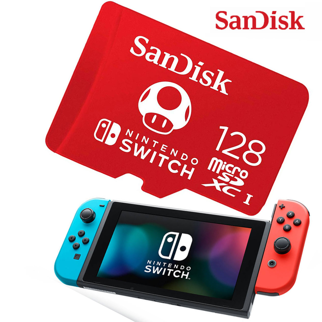 Sandisk Nintendo Switch Micro SD Memory Card With Games 64GB 128GB 256GB Micro SD Carte Memoire Nintendo Switch Flash Card Games
