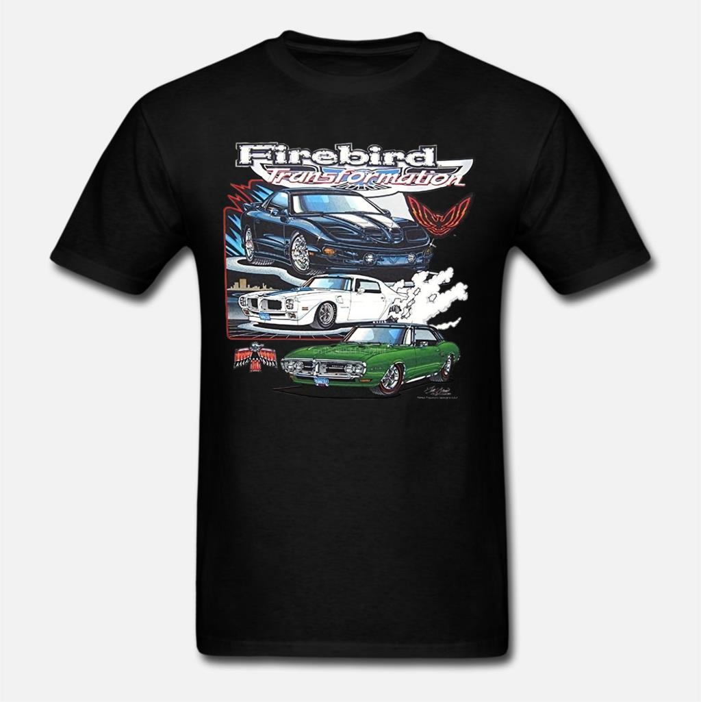 Camiseta atractiva y famosa para hombre, Pontiac Firebird Trans Am transformable Royal T_A, camiseta de la fórmula de hurman