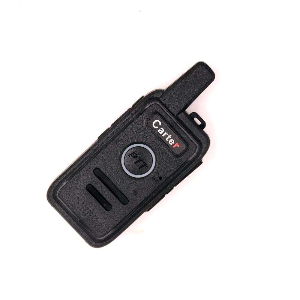 Mini transmisor de HAM UHF Q1 2W bolsillo BANCO DE Hotel Interphone comunicación inalámbrica