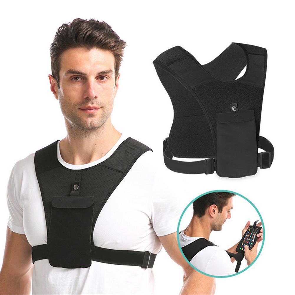 Рюкзак-жилет для бега, ультралегкий рюкзак с гидратацией, светоотражающая Спортивная поясная сумка, жилет для гидратации для бега, сумка дл...