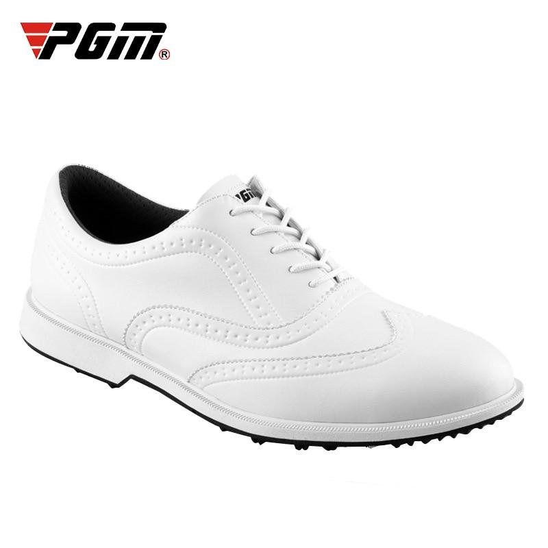 PGM Mens Golf Schuhe Wasserdichte Leder Brogue Stil Schuhe Casual Business Sport Turnschuhe Anti-slip Training Schuhe D0841