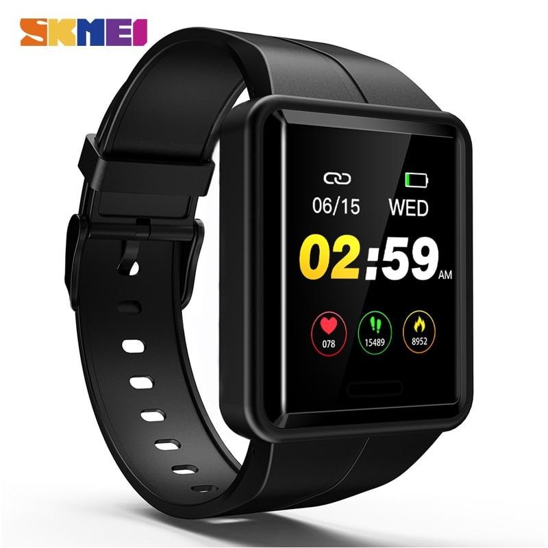 SKMEI colorido HD pantalla hombres reloj Digital Monitor de ritmo cardíaco relojes deportivos IP67 hombre impermeable reloj de pulsera reloj Masculino