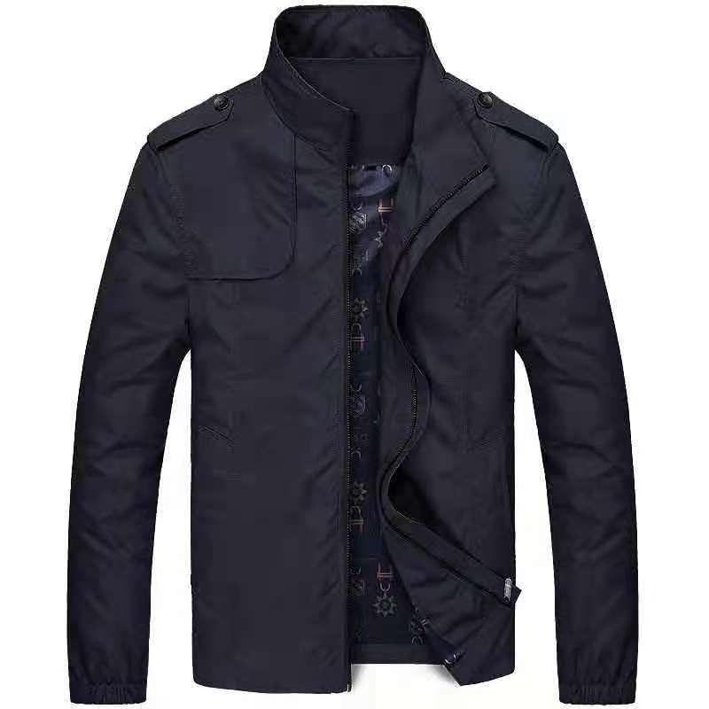 Men's Casual Jackets Solid Color Jackets Bomber Jackets Men's Hiking Jackets Outdoor Casual Jackets Slim Warm Jackets