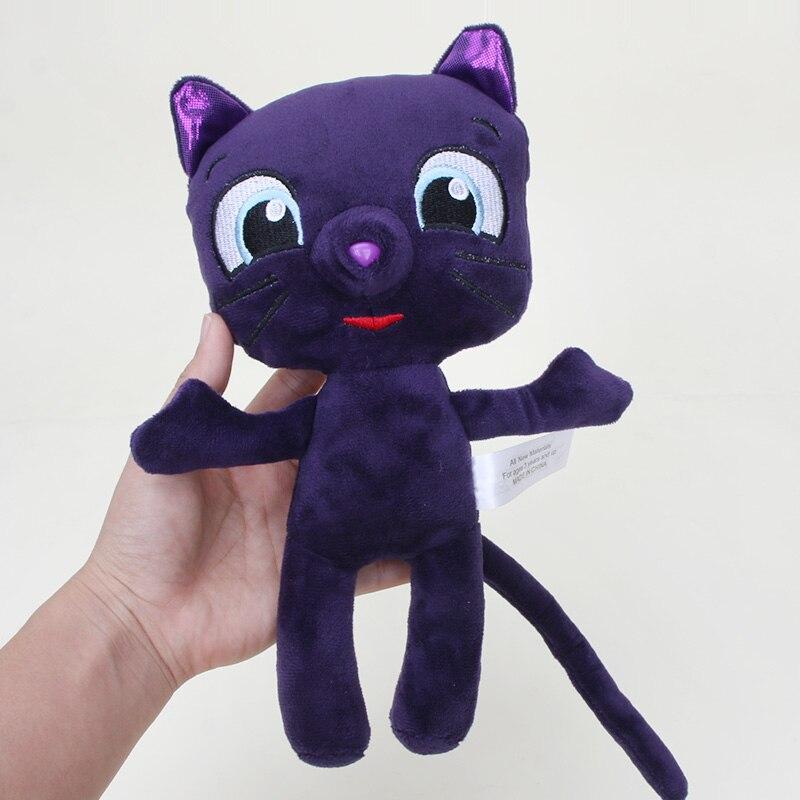 25cm verdadeiro e o reino do arco-íris enchido bonecas de pelúcia bartleby gato brinquedos macios para o natal do miúdo