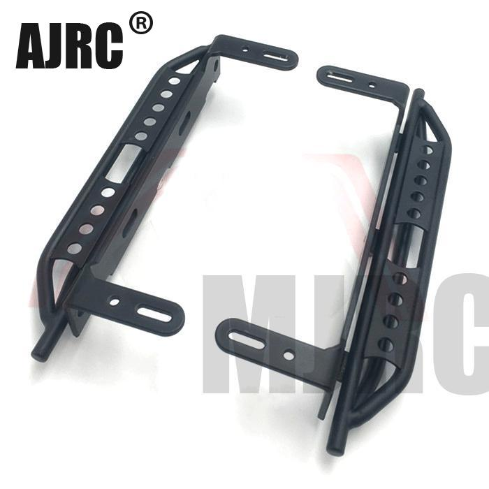 1pair Metal Side Pedal For 1/10 RC Crawler Car Traxxas TRX4 Defender Bronco Side guard plate Aluminium alloy Foot pedal hot sale flexible aluminium alloy side step running board electric pedal for cx 5 2017 2018