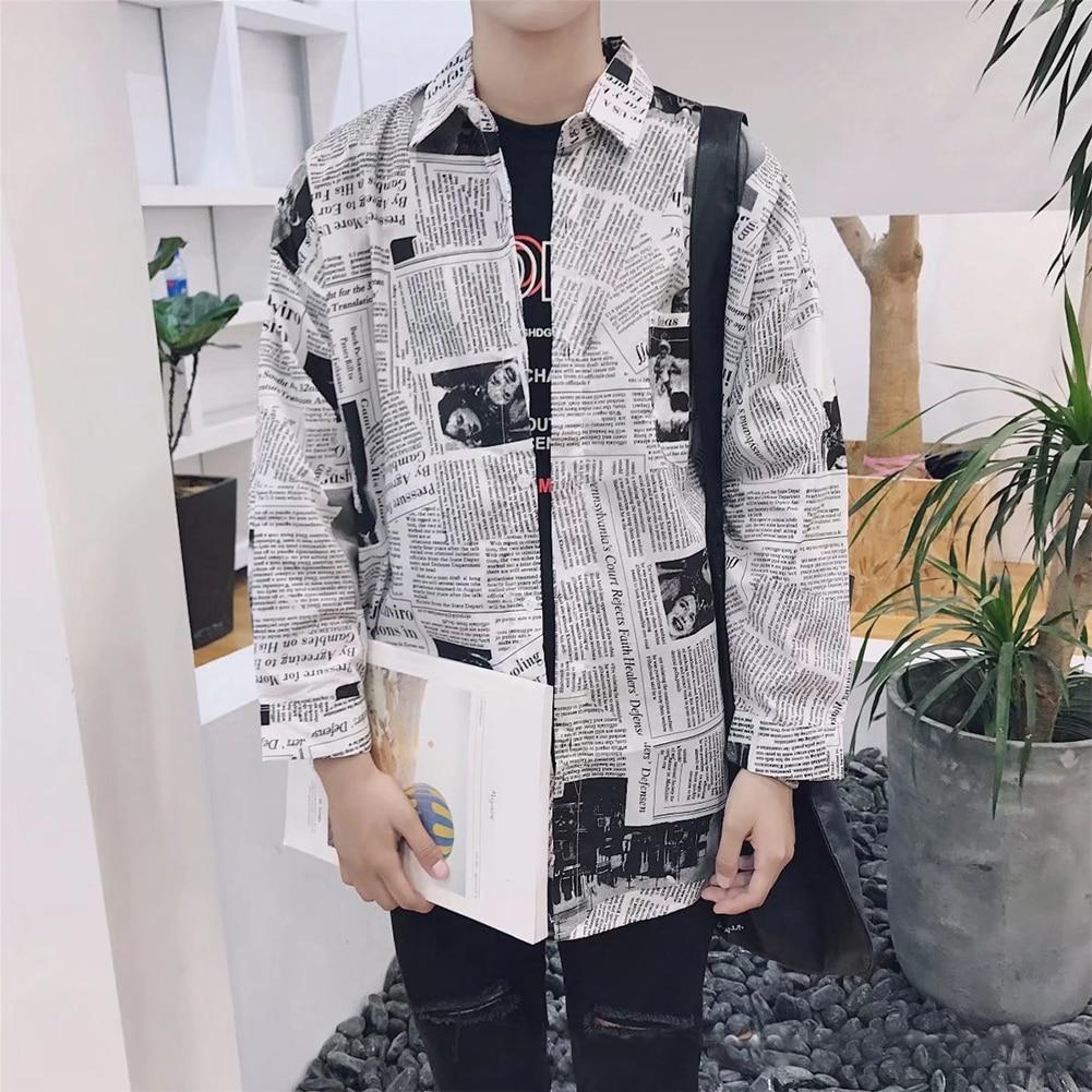 Camisetas de manga larga para hombre con cuello cuadrado y mezcla de algodón de primavera para hombre