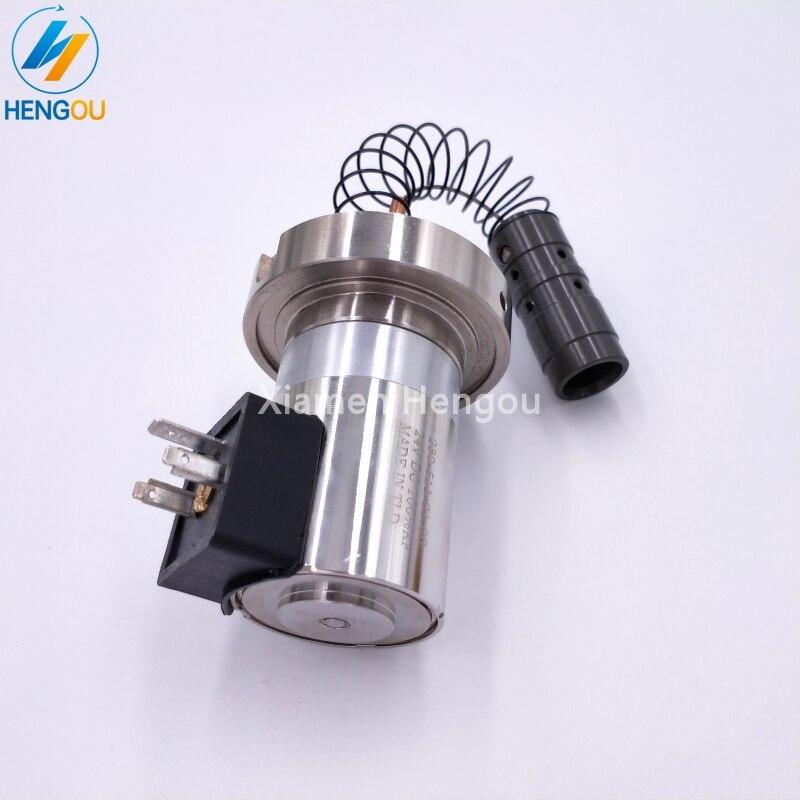 1 pieza ZD.203-764-01-00 máquina de plegado accesorios válvula solenoide motor 5V