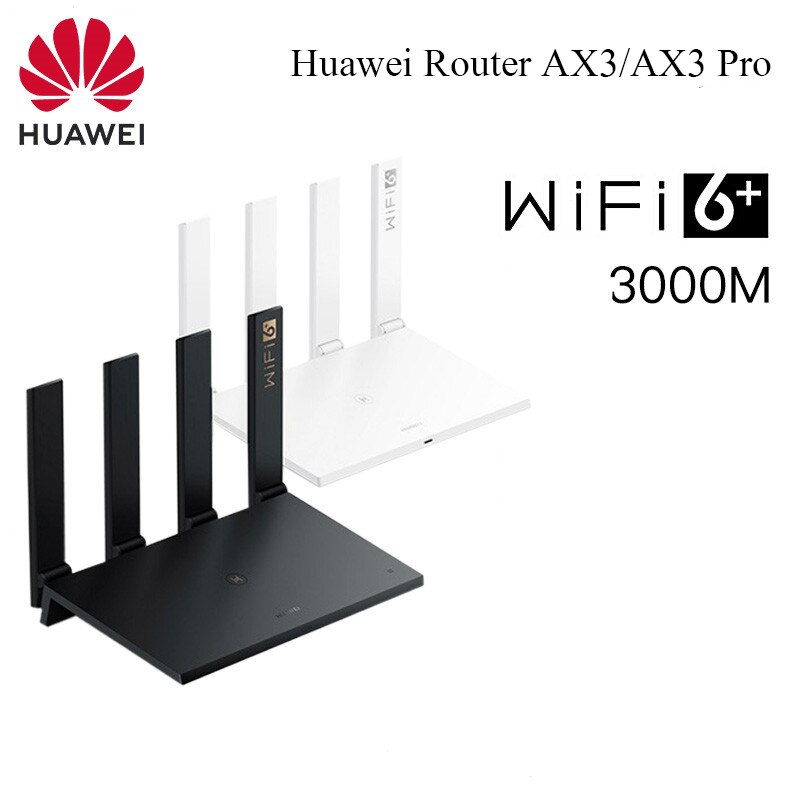 Huawei WiFi AX3 /AX3 Pro Quad-core Dual-core Router WiFi 6+ 3000Mbps 2.4GHz 5GHz Gigabit Rate WIFI Router For Smart Home Life